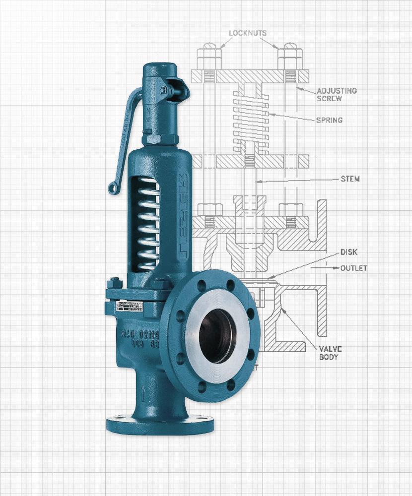 Nexam Industries - Предохранительные клапаны